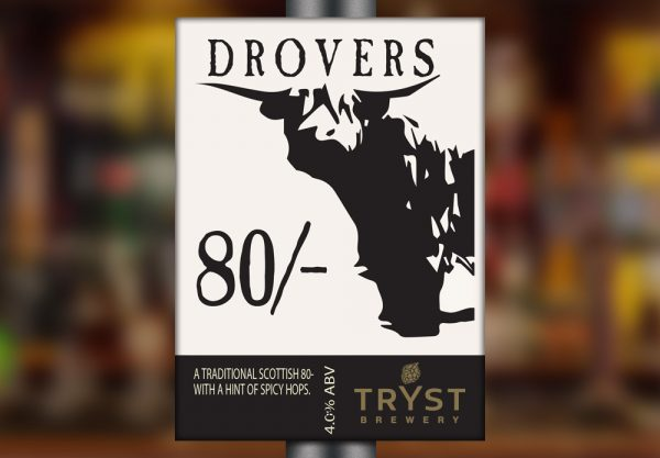Drovers 80/- by Tryst Brewery