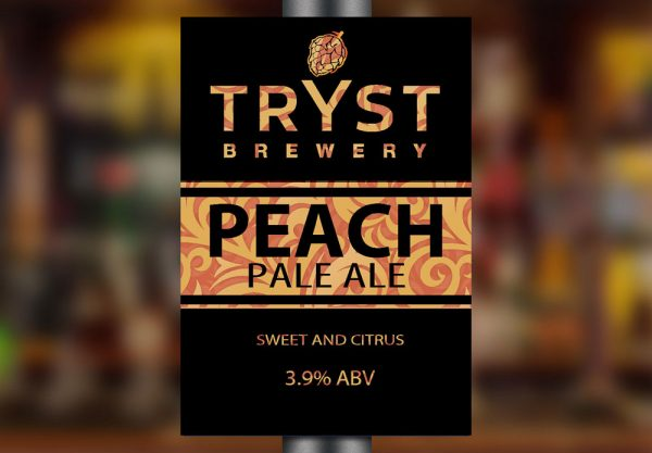 Peach Pale Ale by Tryst Brewery